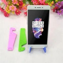 Plastic V Shape Foldable Phone Stand, For Mobile Holder