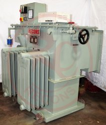 Three Phase Servo Controlled Voltage Stabilizer