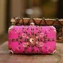 Embroidery Hand Clutch