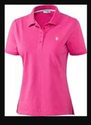 Gunja Textiles Casual Wear Women Corporate T Shirt