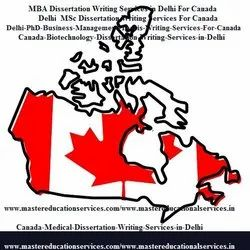 Canada Dissertation Writing Services In India