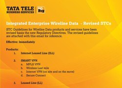 TATA TELESERVICES Wireless Internet Service Provider, 10mbps