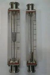 Acrylic Rotameter TC End