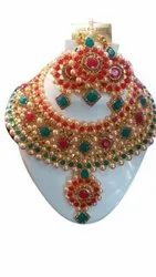 Party Necklace Set Traditional Imitation Jewellery