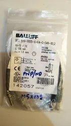 Pnp常开不锈钢BALLUFF接近传感器,感应距离:0.8MM,型号名称/编号:Bes 516-3005-e5-c-s49