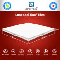 Solar Reflectance Index Heat Reduce Tile