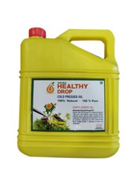 Lowers Cholesterol 5 Liter Healthy Drop Cold Pressed Safflower Oil