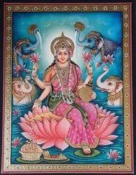 Laxmi Ji Tanjore painting