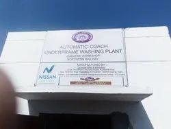 Automatic Coach Underframe washing plant
