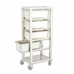 ACME 1071 Hospital Kitchen Trolley