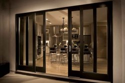Glass Closet Doors UPVC Lift & Sliding Door, For Hotel, Interior