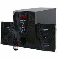 Krisons Black Nexon 2.1 Multimedia Speaker