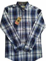 Urban Checked Men Casual Cotton Check Shirt