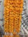 Marigold Garlands with Bottom Hanging