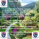 English Language And Applied Linguistics PhD Thesis Writing Services