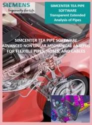 SIEMENS SIMCENTER SAMTECH TEA PIPE Software : CAE-based design of flexible hoses, pipes and cables