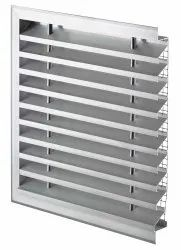 Louvers With Rain Proof Side Blades
