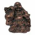 Fengshui Laughing Buddha Idol  With Bowl
