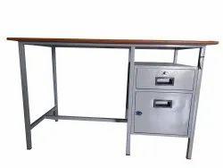 Mild Steel Office Table, 6 Months