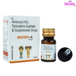 Ambroxol HCL Terbutaline Sulphate and Guaiphenesin Drops