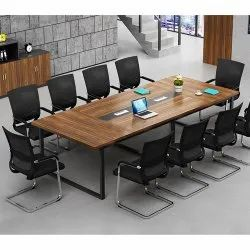 Brown Wooden Meeting Room Furniture, For Office