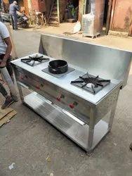 Lpg three burner indian Gas Range