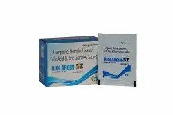 L Arginine Methylcobalamin Folic Acid and Zinc Granules Sachet
