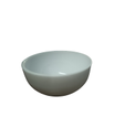 Glamour Plastics White Plastic Serving Round Bowl, Set Contains: 2 Pieces