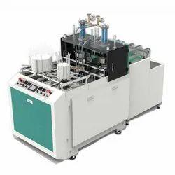 High Speed Single Die Paper Plate Machine