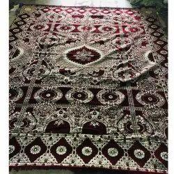 For Home Red Designer Maroon Carpet