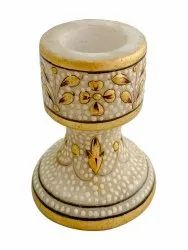 Marble candle stand 2.5 inches