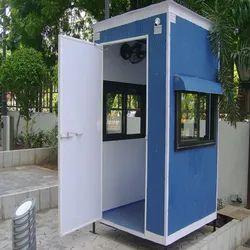 Steel Prefabricated Security Cabin