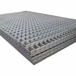 Black MS Welded Wire Mesh Panel, For Domestic, Size: 25mm And Above
