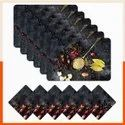 Assorted Multicolor Dining Table Mats, Size: 45cm X30 Cm