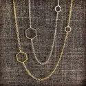 Asymetrical Hexagon Necklace