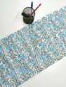 Hand Block Print Fabric Cotton Malmal Print