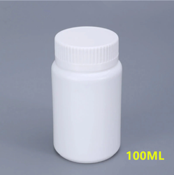 Food Supplement Capsule Bottles