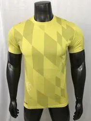 Men T Shirt Dri Fit Round Neck T-Shirt, Sports Dri Fit T-Shirt