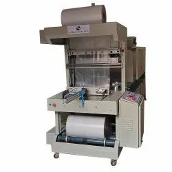 Semi Automatic Web Sealer with Shrink Wrapping Machine for Mineral water Bottles
