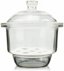Soda Glass Dessicator, High Grade