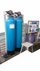Ji pure Usa Membrane 6000 LPH Commercial RO Water Plant, FRP