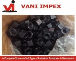 A194 2H Nuts For Industrial, Size: M 6 To M 100
