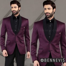 Stylish Wine Suit For Men
