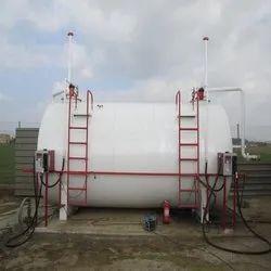 Blue Ms Above Ground Storage Tank