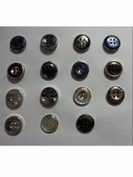 Round Plastic Button, For T-Shirt, Packaging Type: Packet