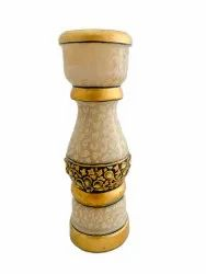 Marble candle stand 6 inches