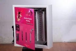 Wall Mounted Automatic Sanitary napkin vending machine