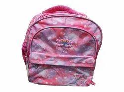 Unistar Polyester Girls Pink School Bag