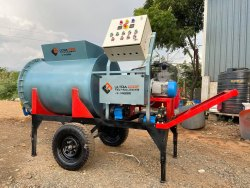 Mobile Type Foam Concrete Machine
