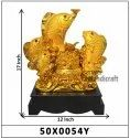 Gold Plated Fengshui Fish Set of 5
